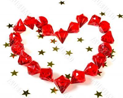 heart gems