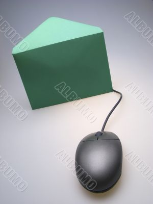 mouse and envelope