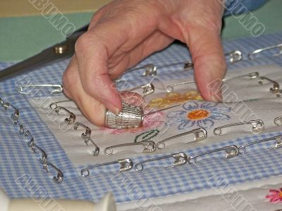 Grandmother Quilting