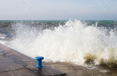 Rough Seas at the Channel