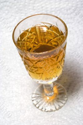 Crystal liqueur-glass