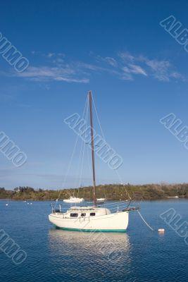 Boat inthe sea