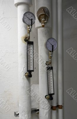 Air gauge and thermometrs