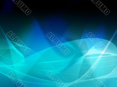 abstract Cool waves background texture