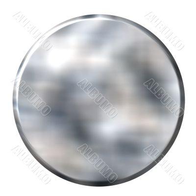 3D Tin Foil Circular Button