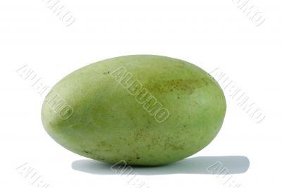 A green mango