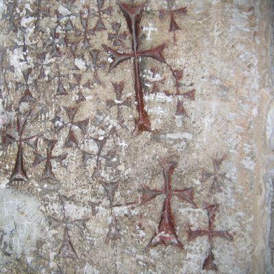 Cross Crusaders in the Holy Sepulchre