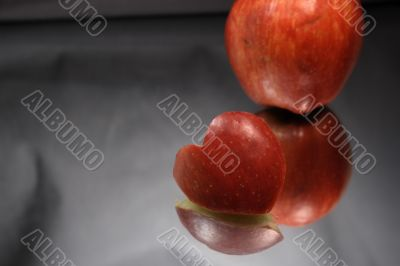 Valentines Apple Heart