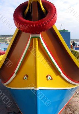 Boat of the Mediterranean Sea