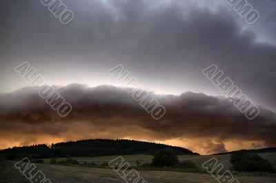 thunderclouds - before storm