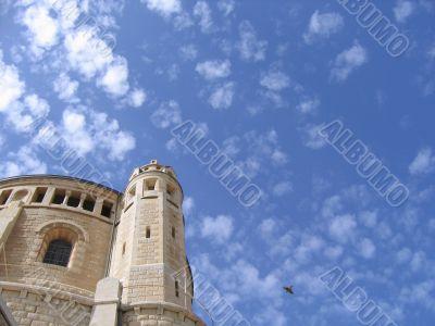 Dormition Abbey on Mount Zion, Jerusalem