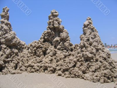 The castle of sand