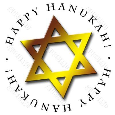 Happy Hanukah Icon