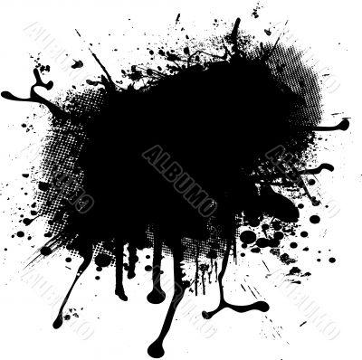 ink spalt blob halftone