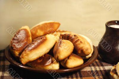 pie Pierogi, pirogi, russian tradition pastry