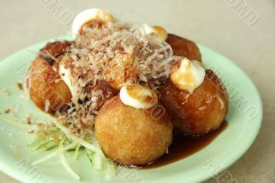 Tokoyaki octopus