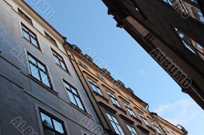 Residential buildings in Stockholm