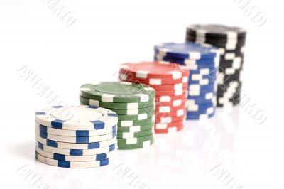 Pocker, Casino Chips