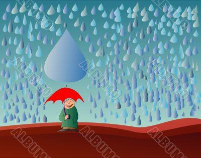 fate - rain