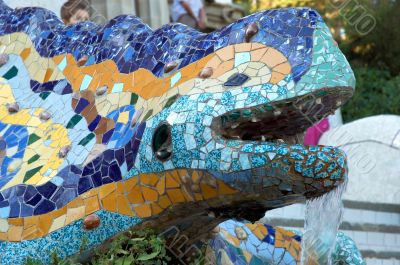 mythological dragon of Guell
