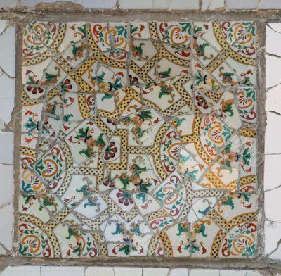 gaudi mosaic, 1