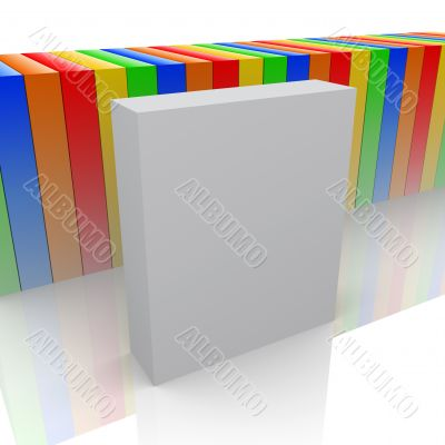 Empty product box