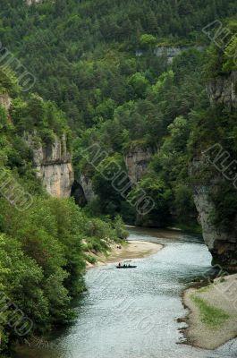 Tarn Gorges - Canyon near La Malene
