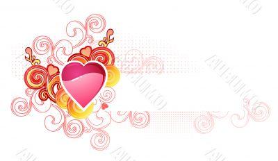 love heart  / valentine and wedding /