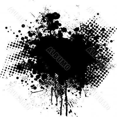 ink splat dot