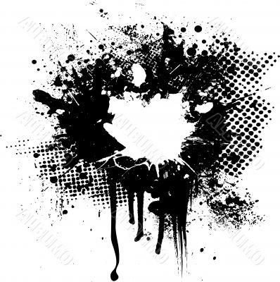 ink splat overlay