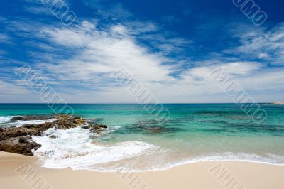 Peaceful Summer Beach