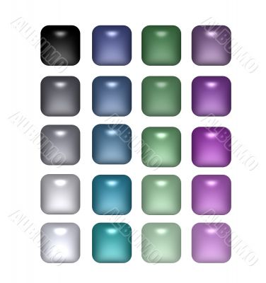 Pearl Like Buttons