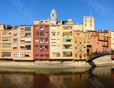 City Girona in Spain