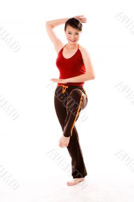 exercise posing