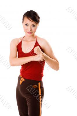 boxing pose