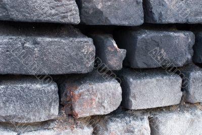 Background a brick wall