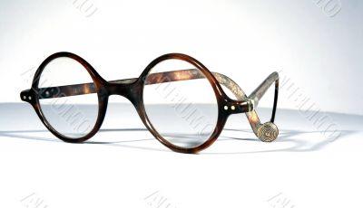 Antique tortoiseshell spectacles