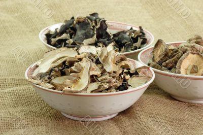 Dried asias mushroom mix