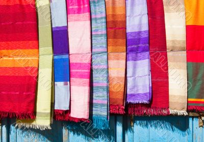 Coloured Cloth and Silk