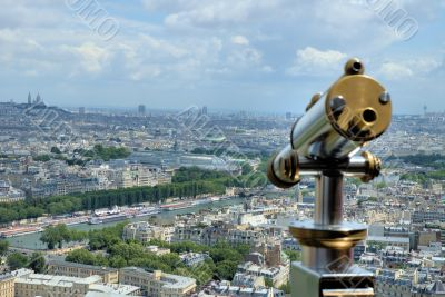 Take a look over Paris