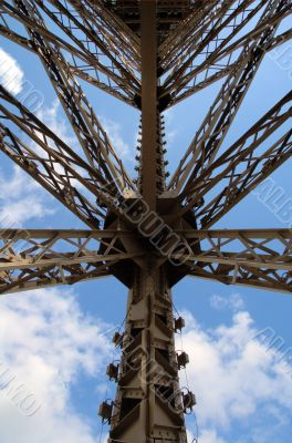Structure of the Tour Eiffel