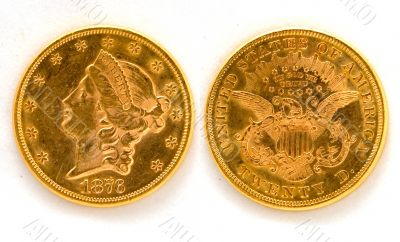 United States Historic Gold Coin