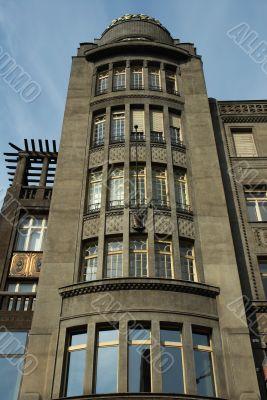Prague art-deco building