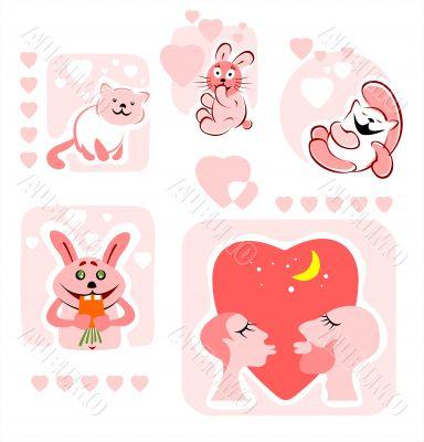 cartoon love