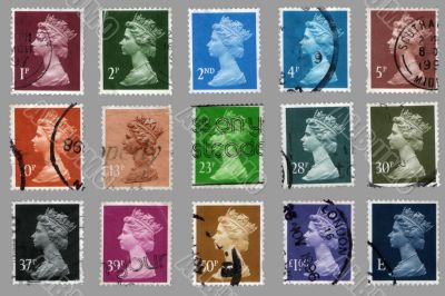 british postage stamps