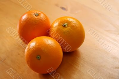 Three oranges