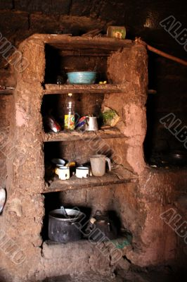 kitchen in the andes