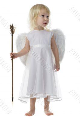 angel with Cupid arrow