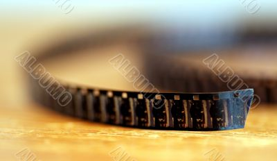 8 mm film roll