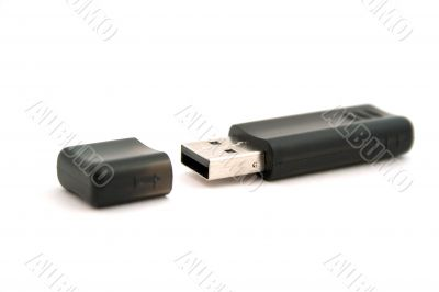 usb storage on a white background. isolated
